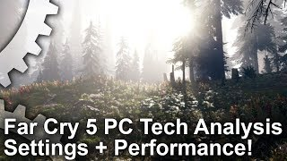 Far Cry 5 - Settings and Performance Analysis