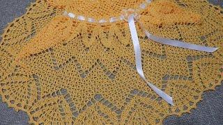 getlinkyoutube.com-Vestido Zig Zag Crochet parte 2 de 3