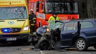Dopravní nehoda se zraněním (vyproštění osob)