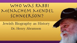 getlinkyoutube.com-Who Was Rabbi Menachem Mendel Schneerson of Chabad? Jewish History Lecture by Dr. Henry Abramson