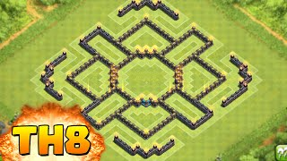 getlinkyoutube.com-Clash of Clans - BEST TOWNHALL 8 (TH8) FARMING BASE!!!