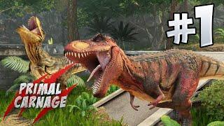 Primal Carnage Extinction : Part 1 - T.Rex Squad!