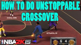getlinkyoutube.com-How to Do Side to Side Crossover - UNSTOPPABLE CHEESE !! NBA 2K15