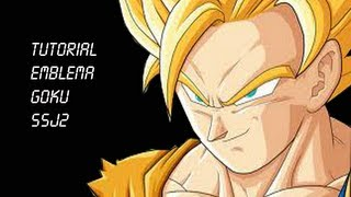 Black Ops II Super Saiyan Goku Emblem Tutorial.