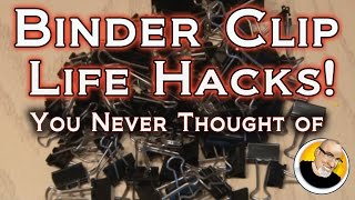 getlinkyoutube.com-BINDER CLIP LIFE HACKS You Never Thought Of!