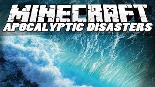 getlinkyoutube.com-Minecraft Mods | APOCALYPTIC DISASTERS MOD! (Tsunamis, Blackholes & Sinkholes) | Mod Showcase