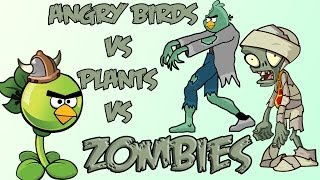 getlinkyoutube.com-Angry Birds vs Plants vs Zombies