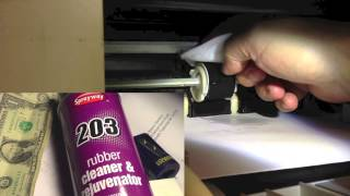 getlinkyoutube.com-Renew your printer pickup roller! No more paper jams! Don't replace: rejuvenate! An easy fix!