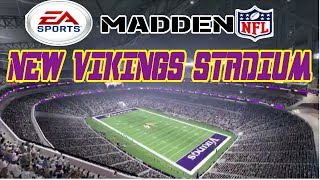 getlinkyoutube.com-Madden 16 - New Vikings Stadium