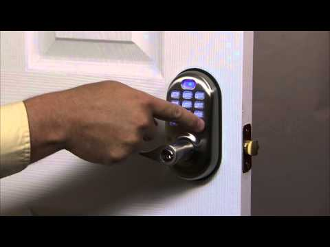 Yale Real Living Push Button Lever Lock Programming - All Code Lockout 08
