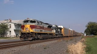 getlinkyoutube.com-Trains on the Norfolk Southern Harrisburg Line Late Summer 2015
