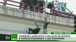 getlinkyoutube.com-Joven mexicano colgado de un puente sobrevivió torturas y balazos
