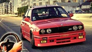 getlinkyoutube.com-illegal Street Drifting & Racing, City Car Driving - BMW M3 e30 (Full HD 2014)