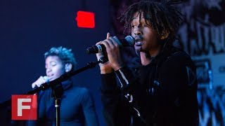 """getlinkyoutube.com-Willow and Jaden Smith, """"5"""" (Live at The FADER FORT)"""