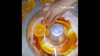 getlinkyoutube.com-كيكة البرتقال المقلوبة