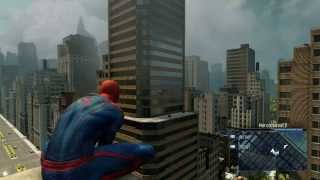 getlinkyoutube.com-The Amazing Spider-Man 2 Video Game - TASM1 suit free roam