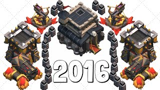 getlinkyoutube.com-Clash of Clans [Best Th9 farming base 2016]