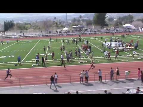 SCV Invitational: Boys 4 x 100