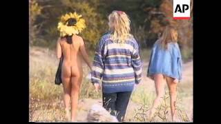 getlinkyoutube.com-Russia : St. Petersburg Nudists Club End Of Season Swim - 1995