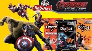 getlinkyoutube.com-Tarjetas  Avengers era de ultron de Sabritas Comercial de Tv HD