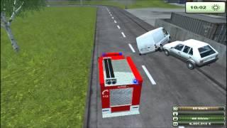 getlinkyoutube.com-Feuerwehr / Pompier : Farming Simulator 2013