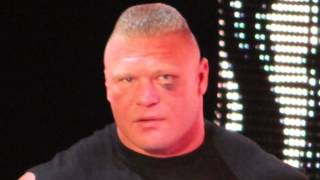Brock Lesnar on Cael Sanderson