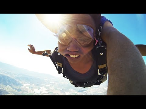 I PASSED OUT DURING SKYDIVING!