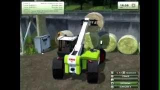 getlinkyoutube.com-ramassage de botte de paille sur Farming Simulator 2013