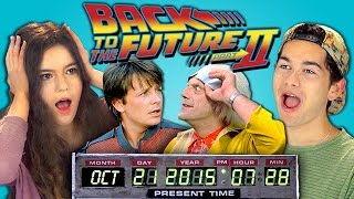 getlinkyoutube.com-Teens React to Back to the Future 2 (Marty McFly arriving on October 21st, 2015)