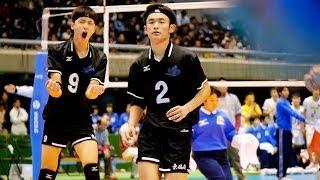 getlinkyoutube.com-春高バレー2014 (M準決) 星城(愛知) × 東福岡 Final set