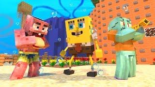 getlinkyoutube.com-Minecraft: SURVIVAL LUCKY - BOB ESPONJA RAIVOSO ‹ AM3NIC ›