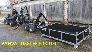 getlinkyoutube.com-Vahva Jussi Hook Lift trailer