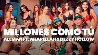 Alemán - Millone$ como tú Ft. Akapellah & Dezzy Hollow (Prod. Danny Brasco) [Video Oficial]