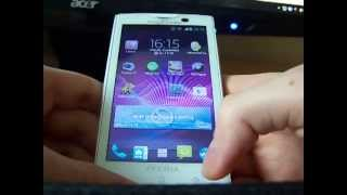 getlinkyoutube.com-Xperia X10i Jelly Bean 4.1.2