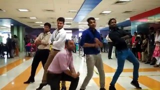 getlinkyoutube.com-RING OF FIRE | Dance for Happiness | Accenture Flash mob Bangalore 2015