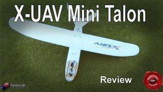 getlinkyoutube.com-RC Reviews: X-UAV Mini Talon V Tail Plane