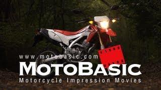 ホンダ CRF250L バイク試乗レビュー HONDA CRF250L TESTRIDE & REVIEW
