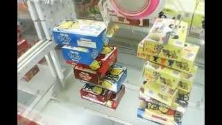 getlinkyoutube.com-ラウンドワンのお菓子タワー【UFOキャッチャー】(激甘設定)