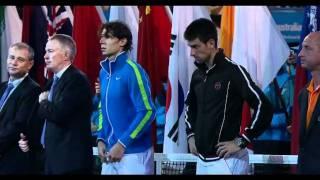 getlinkyoutube.com-Djokovic and Nadal nearly collapse —Australian Open 2012 Championship Final
