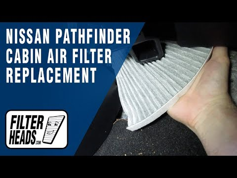 How to Replace Cabin Air Filter 2016 Nissan Pathfinder