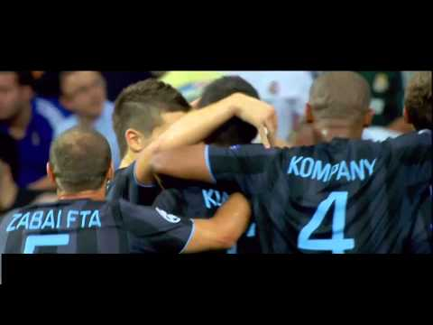 Aleksandar Kolarov vs Real Madrid - 18.09.2012 / Srbi u Evropi