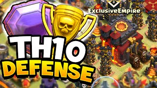 getlinkyoutube.com-Clash of Clans - ULTIMATE TOWN HALL 10 (TH10) DEFENSIVE BASE! Easy Trophies + Defensive Wins!!