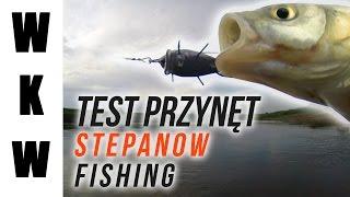 getlinkyoutube.com-Test przynęt Stepanow Fishing Wiślane Klenie  Kilka słów o Wiśle...