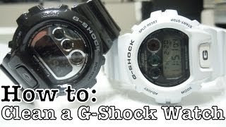 getlinkyoutube.com-How To: Clean G-Shock (Matte & Glossy)