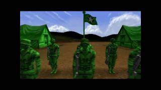 getlinkyoutube.com-Army Men RTS Mission 1: The Thin Green Line Walkthrough