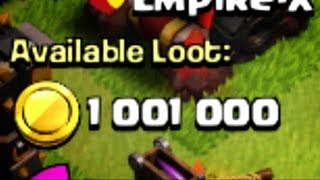 getlinkyoutube.com-BIGGEST LOOT IN MY Clash of Clans HISTORY - EPIC attack against a FULLY MAXED base at 4200