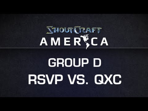 ShoutCraft America - Group D - RSVP vs. qxc BO3
