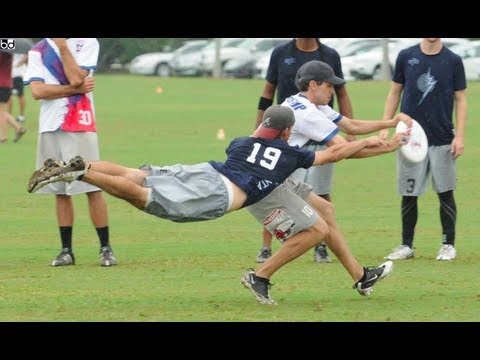 Best Ultimate Frisbee Highlights 2011