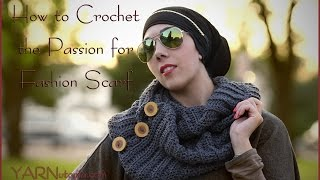 getlinkyoutube.com-How to Crochet the Passion for Fashion Scarf