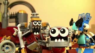 getlinkyoutube.com-Junkyard Go-Kart Murp - LEGO Mixels - Stop motion Episode 12